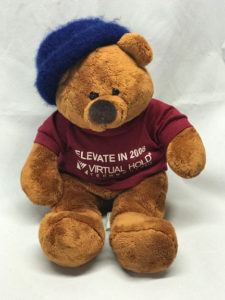 Bear with new hat