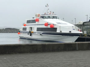 The boat to Aran